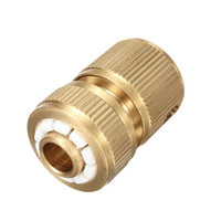 Cheap Hot Sale Copper Brass Home Garden Car Washing Water Hose Pipe Plumbing Connector 1 2 Lowest Price