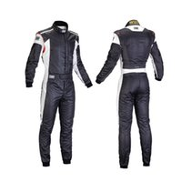 Wholesale red High Quality omp drift racing suit racing coveralls Racing training suit layers Fire Proof black white blue