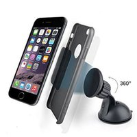 Wholesale Extra Strength Magnetic Windshield Dashboard Car Mount for Samsung Galaxy S5 S4 S3 Note Note