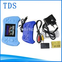 Wholesale 2015 New Hot sale PVG Game Player Inch PVE Handheld Game Consoles Bits doubles play Game Player for kids game console wholesales