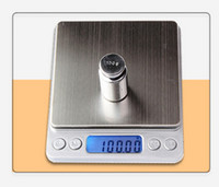 Wholesale High precision kitchen jewelry pocket scale baking palm mini electronic scale g LCD Display Balance Weight Scale g kg kg kg