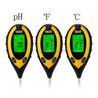soil ph moisture meter - Electronic Digital Soil Moisture Meter Sensor Water Monitor Hydrometer PH Value Sunlight Temperature in