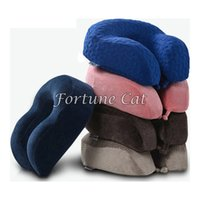 Wholesale Memory Foam Pillow Neck U Shape U Shaped Headrest Car Flight Travel Soft Nursing Cushion