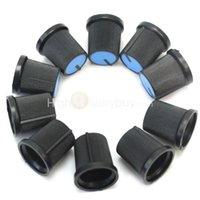 Wholesale 10pcs Blue Face Plastic Knob Cap for Rotary Taper Potentiometer mm Hole Dia