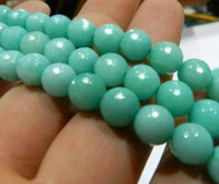 aquamarine stone - 10mm Faceted AAA Natural Brazilian Aquamarine Round Stone Beads