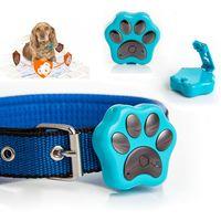 Wholesale RF V30 Waterproof Pet GPS Leds Flash Collar Anti lost Tracker Safety Alarm