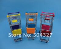 Wholesale Piece Big Size Mini Replica Trolley Mini Shopping Trolley with Retail Box