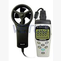 air pressure volume - handheld wind speed meter air volume meter TM anemometer with Humidity and Pressure Meter of Backlight function A