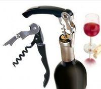 Wholesale Retail Hot Waiter s Wine Tool Bottle Opener Sea horse Corkscrews Knife Pulltap Double Hinged
