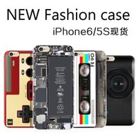 calculator camera - New ideas Iphone Case magnetic tape camera calculator nokia Game controllers style TPU Cellphone case For Iphone6 plus S Back Cover