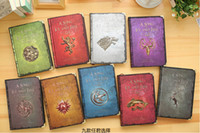 Wholesale Classic Notebook With Game of Thrones Series Involve All The Nine Family Good Choice As A Gift