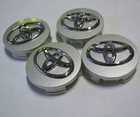 avalon camry - 4pcs set mm TOYOTA Camry Corolla Avalon Venza Hub Cap Sticker TOYOTA Camry Corolla Wheel Center Caps