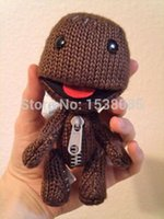 big planet - quot Little Big Planet Sackboy Brown Knitted Stuffed Animal Plush Doll