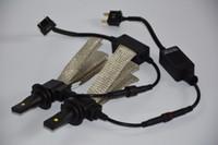 2pcs / lot de la nueva 40W 5000LM H7 Cree LED Faro del kit del coche de la lámpara de conducción de los bulbos 6000K blanco