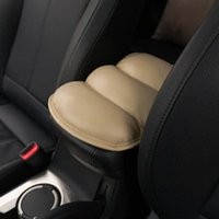 Wholesale Car Auto Armrests Cover Vehicle Center Console Arm Rest Seat Box Pad Soft PU Mats Cushion Universal ho872122