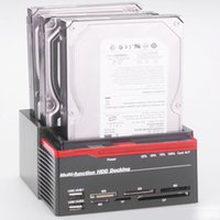 Wholesale HDD Copying machine IDE SATA Support multi interface multi hard disk can be inserted U disk card function of mobile hard disk base