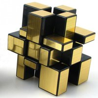 Wholesale Mirror Magic Cube Professional Gold Silver Cube Magic Puzzle Speed Classic Toys Learning amp Education