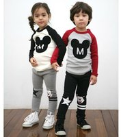 minnie mouse clothing - new spring autumn children s clothing for boys girls cartoon mickey Minnie mouse leisure children s Family clothing