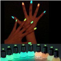 Wholesale Non toxic Neon Fluorescent Luminous oil matte nail polish candy colors transparent Nail Varnish Lacquer Paint Nail Art DHL