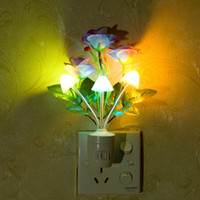 Wholesale Romantic Factory high quality kinds of LED colorful night light with a switch decorative lightsBedside lamp gift