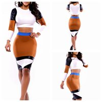 wholesale sexy clothing - 2015 Fashion Sexy Party Evening Bodycon Bandage Long Sleeve NightClub O Neck Winter Dress for Womens Clothes