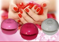 battery manicure set - New Arrival Mini Battery Powered Nail Dryer Manicure and Pedicure set Nail Care products