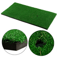 Wholesale Backyard Golf Mat x30cm Residential Training Hitting Pad Practice Rubber Tee Holder Grass Indoor