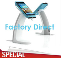 Wholesale Wholesales charging alarm mobile cell phone security stand holder for phone retail shop anti theft exhibition
