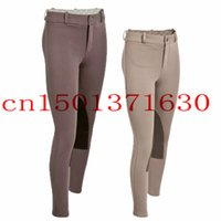 beige breeches - Children s Professional Horse Riding Pants Equestrian competition Pants Breeches resilient Beige Brown Color