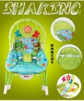 Wholesale Multifunctional portable foldable Music electric shaking baby toddler rocker chair Deck chair Baby cradle