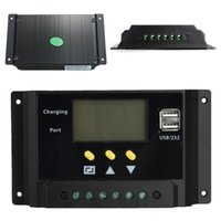 Wholesale High Quality Brand New LCD A PWM Solar Panel Regulator Charge Controller V V W W Dual US A3