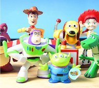 Wholesale New Funny Cute Children Toy Mini Toy Story Buzz Lighter Woody Jessie Figures Dinosaur Dot Freeeshipping