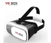 Wholesale Head Mount updated VR BOX Version Virtual Reality Glasses Google Cardboard d Game Movie for quot quot Smart Phone with controller