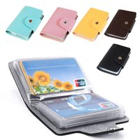 business card case - Hot Selling New Arrivals Cards Pu Leather Credit ID Business Card Holder Pocket Wallet Case Bx42 DHL Or EMS Shipping