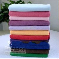 Microfibre cleaning rags - Microfiber Kitchen Towel Microfibre Car Care Cleaning Cloth Glass Cleaner Housekeeping Rags