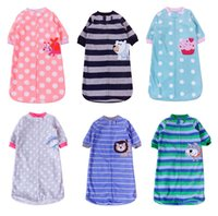 Clothing Style baby sleeping bag - Baby Sleeping bag The new spring and autumn Infant Boys Girls long sleeve fleece sleep bags Baby clothes HX Cheap