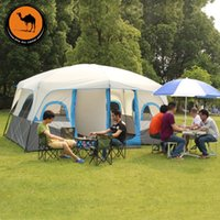 Wholesale Camel outdoor tent double tent people picnic driving wind and rain automatic retractable tent