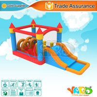 backyard playgrounds - YARD backyard mini inflatable bounce house bouncer obstacle course jumper moonwalk trampoline playground toys with blower