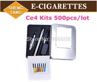 electronic cigarette ego-t - EGo CE4 Electronic Cigarette Starter Kits E Cigarette eGo T Battery CE4 Atomizer with colors Ego Aluminium Case