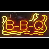 bbq shop - HOT Eagle quot x14 quot BBQ Barbecue Real Glass Neon Light Signs Bar Pub Restaurant Billiards Shops Display Signboards