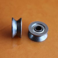 bearings pulleys - 100pcs V624ZZ V groove sealed ball bearing x13x6 mm pulley roller wheel bearings VV