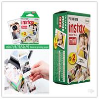 Wholesale Instant Film High quality Fuji instant polaroid photo graphic paper mini7 to s paper White paper box