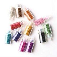 Wholesale 100lot CCA2472 New Arrival New Caviar Beauty Nails Art Colors Manicures Pedicures Nail Art Bottle Set Cosmetic Makeup Accessory
