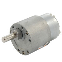 Wholesale FS Hot DC V A RPM High Torque Gear Box Electric Motor mm order lt no track