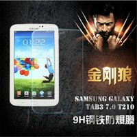 Wholesale Samsung Anti broken Tempered Glass mm H Anti Scratch Explosion proof For Tab