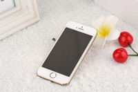 goophone i5s - Goophone i5S MTK6572 Dual Core inch Android4 cell phones GB MP G Single Nano Sim Card Camera SmartPhone