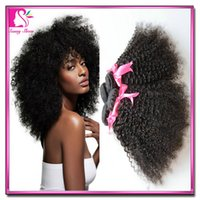 afro kinky human hair - cheap Unprocessed A Brazilian Virgin Human Hair Weaves Bella Afro kinky curly on sale Remy Hair Dyeable