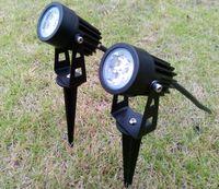 Wholesale 6W W Garden Spot Lamp LED Waterproof IP65 DC V AC V V for Courtyard Park Lawn Lights Decorative Lighting Warm white Red Blue Green
