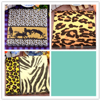 Wholesale Fashion food grade table paper napkins tissue printed leopard patterns decoupage home hotel wedding party cocktail decorative