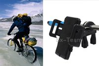 Wholesale Universal Degree Rotating Mountain Road Bike Bicycle car Phone Holder Stand Mount Bracket for iPhone Samsung Cell Phone Mobile